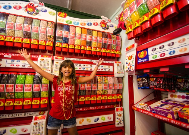Jelly beans at Sweet Memories Candy Shoppe