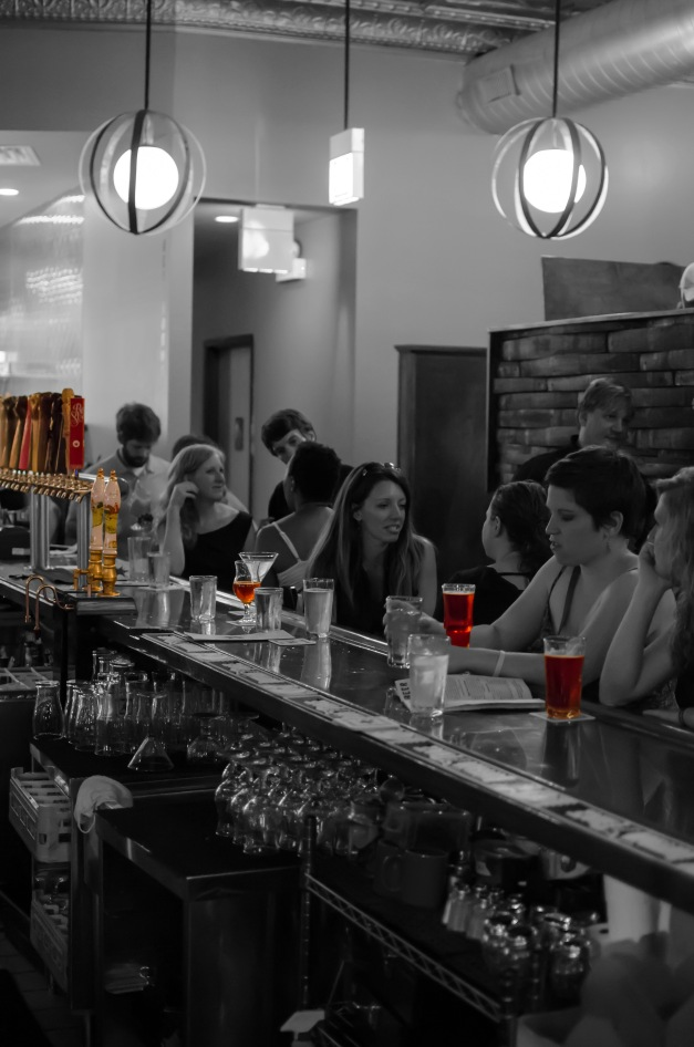 Revolution Brewery with selective colorization