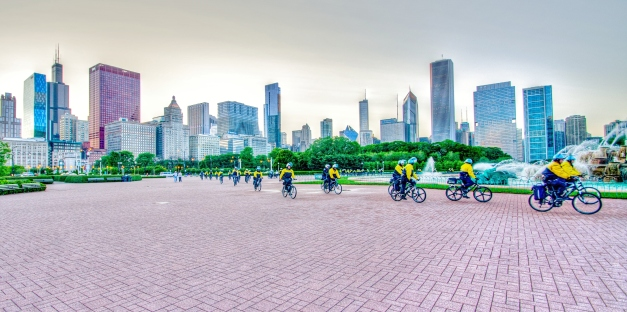 Chicago Police Bike Patrol