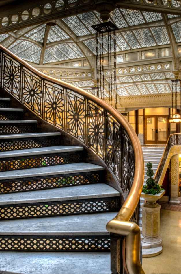 Chicago Rookery Stairs